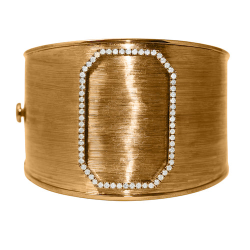 Tobi Cuff in Yellow Gold