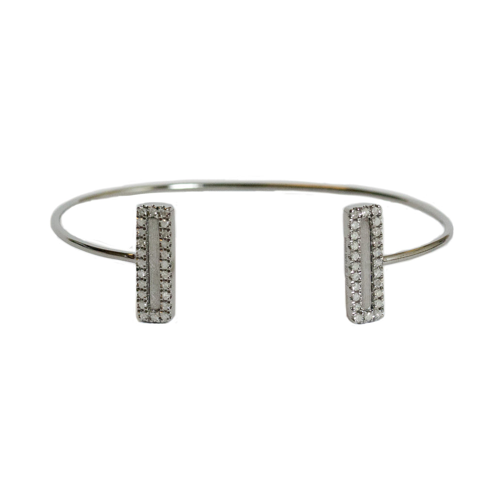 Hollie Double Mini Cuff Sterling Silver