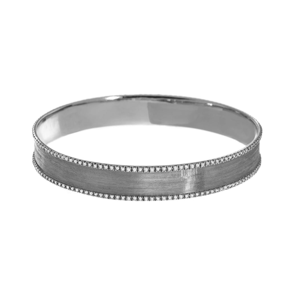 Hollie Bangle Silver