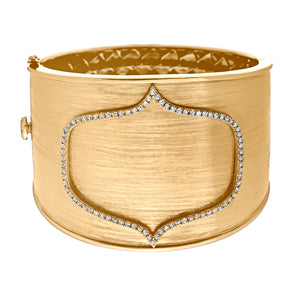 Ivy Cuff Yellow Gold