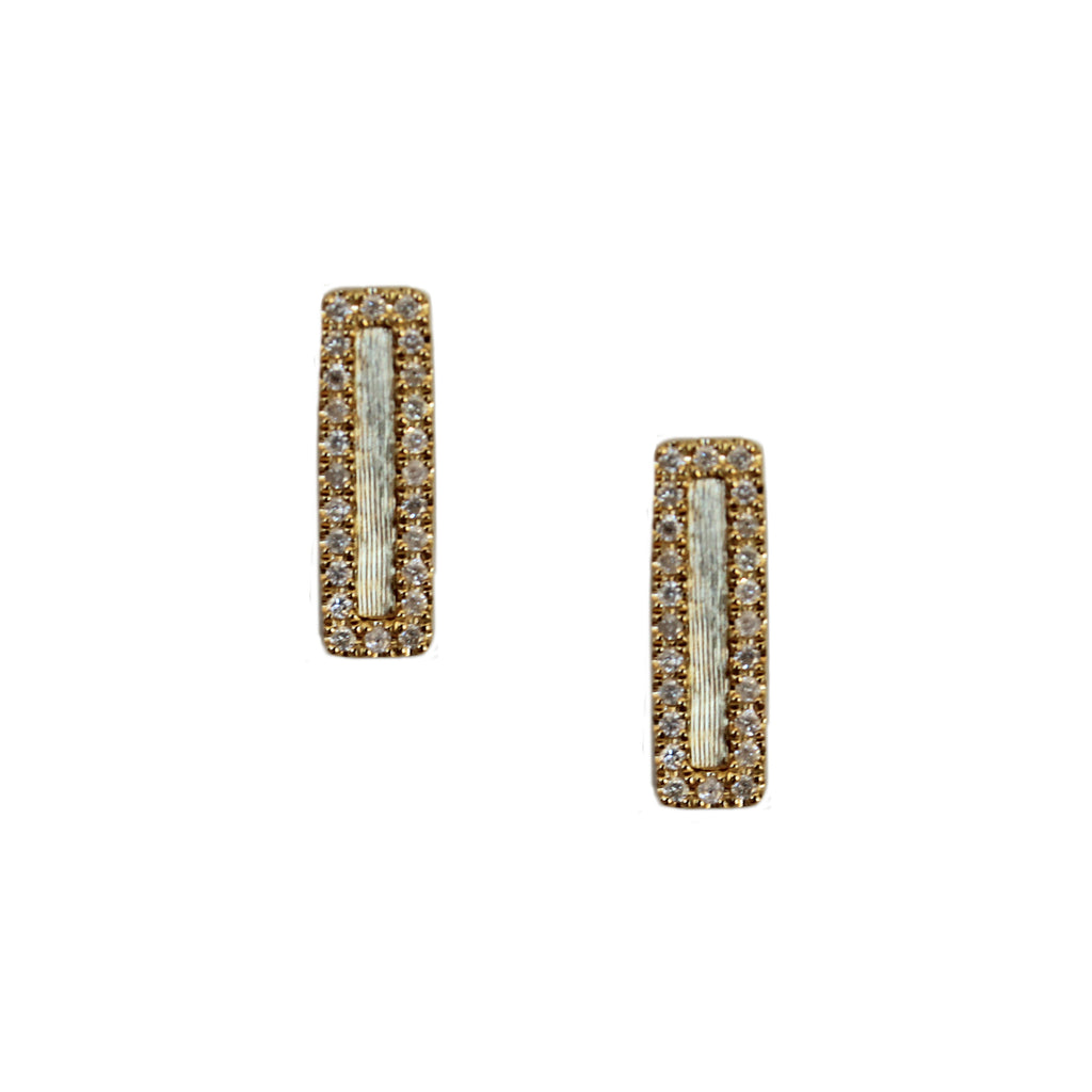 Hollie Mini Studs 18k Yellow Gold