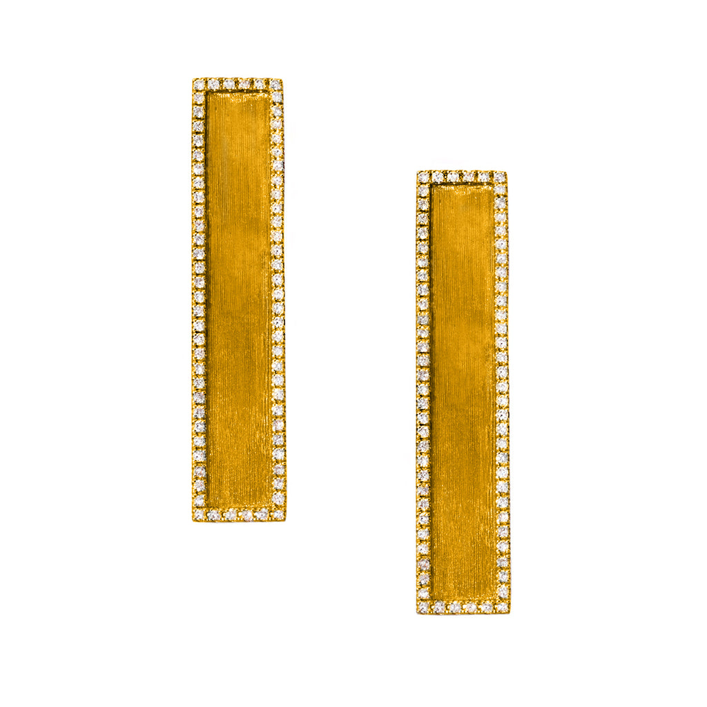 Hollie Earrings Yellow Gold