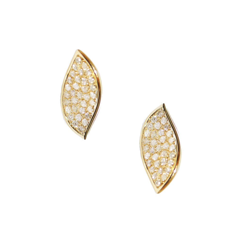 Kristy Studs Yellow Gold