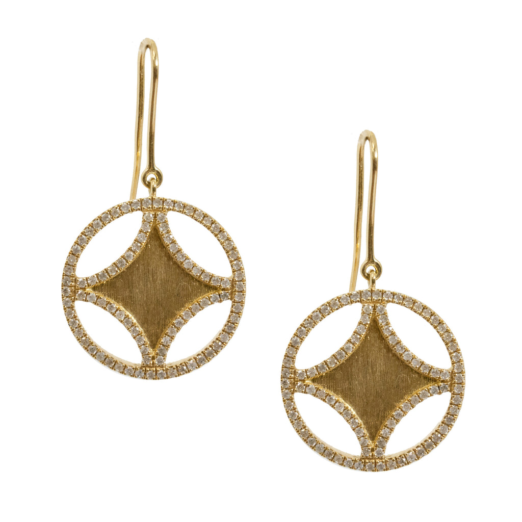 Sistene Earrings 18k Yellow Gold