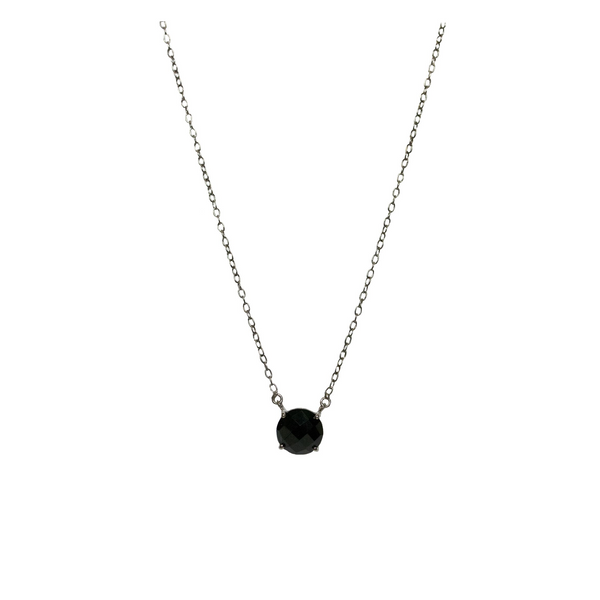 Gemma Necklace Black Onyx