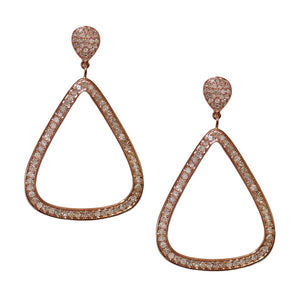 Claire Earrings Rose Gold