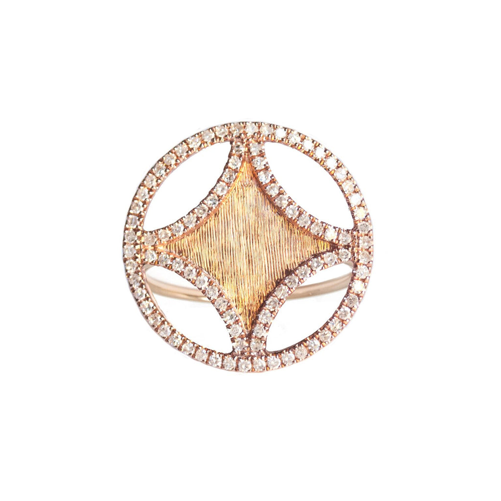 Sistene Ring Rose Gold