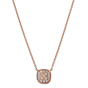Jasmine Necklace 2-Sided Rose Gold