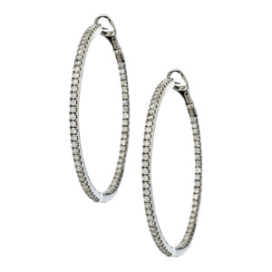 Mary Hoops Silver 1.5mm