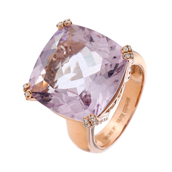 Reid Ring Rose Gold Rose De France