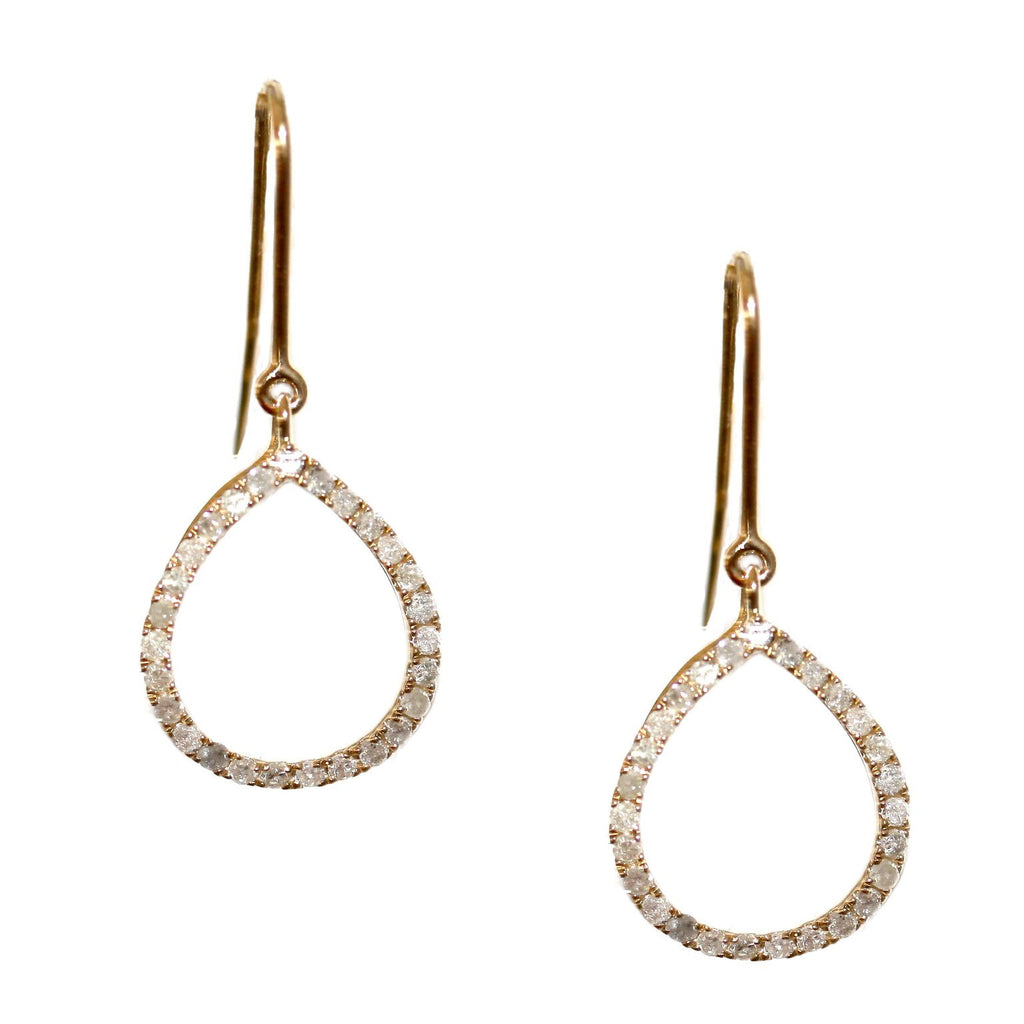 Chloe Earrings Yellow Gold