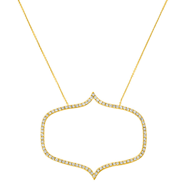 Isla Yellow Gold Necklace