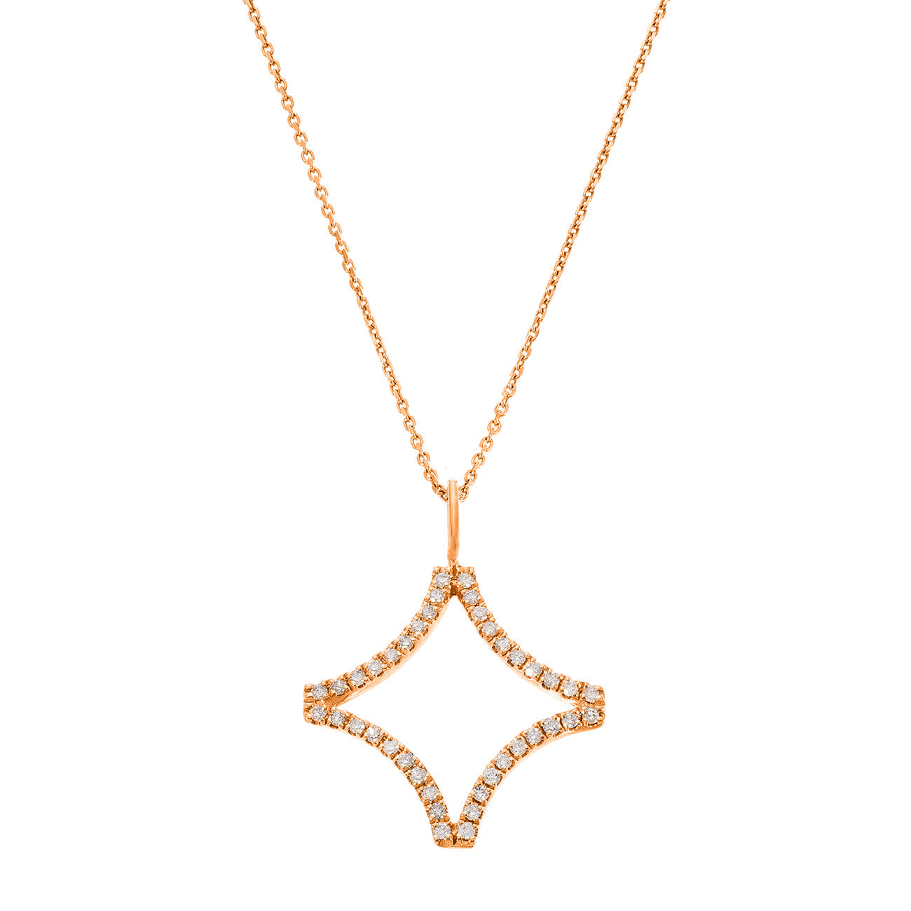 Sage Small Necklace Rose Gold