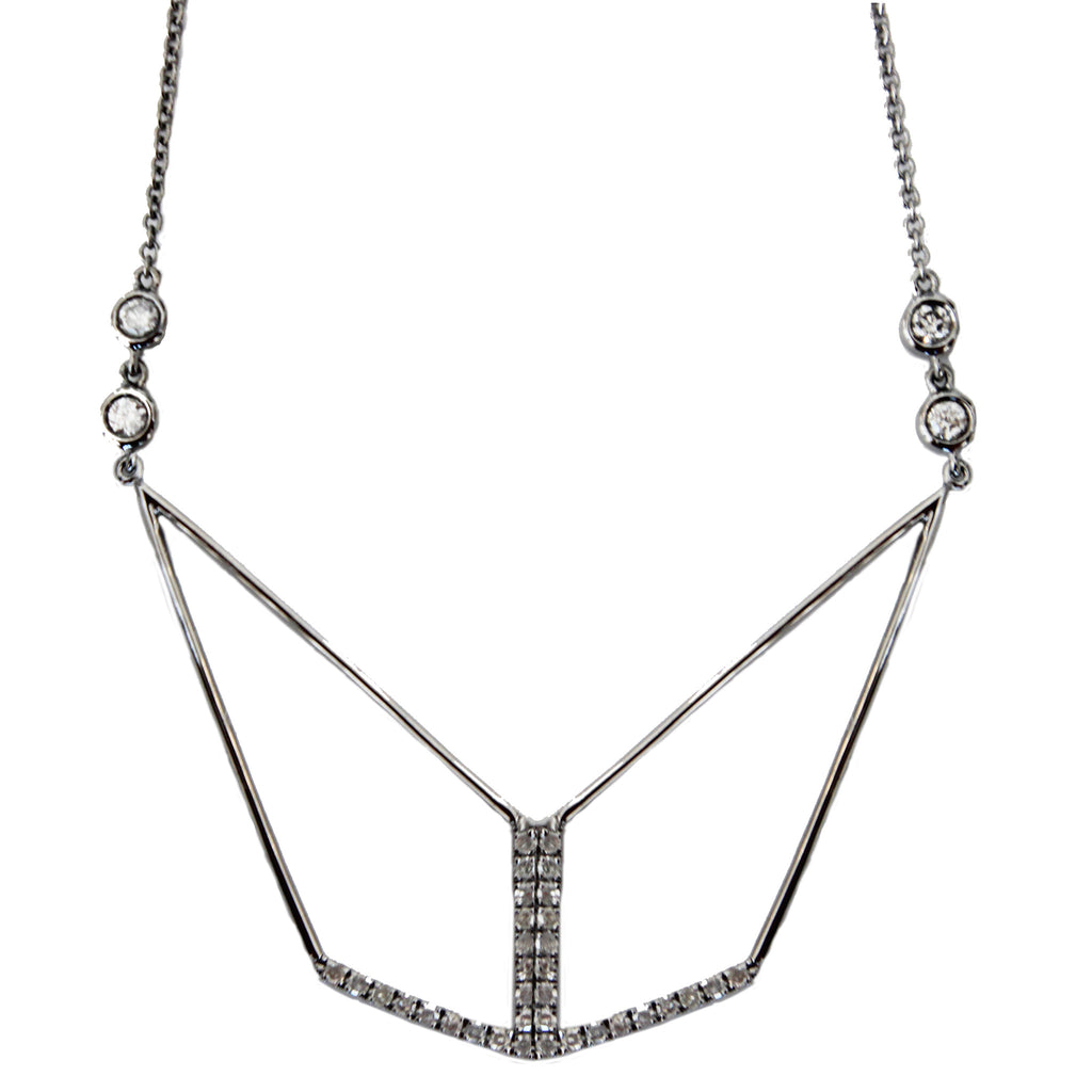 Tori Necklace Silver