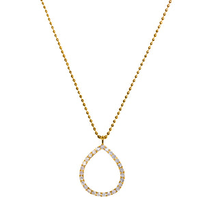 Chloe Necklace Yellow Gold