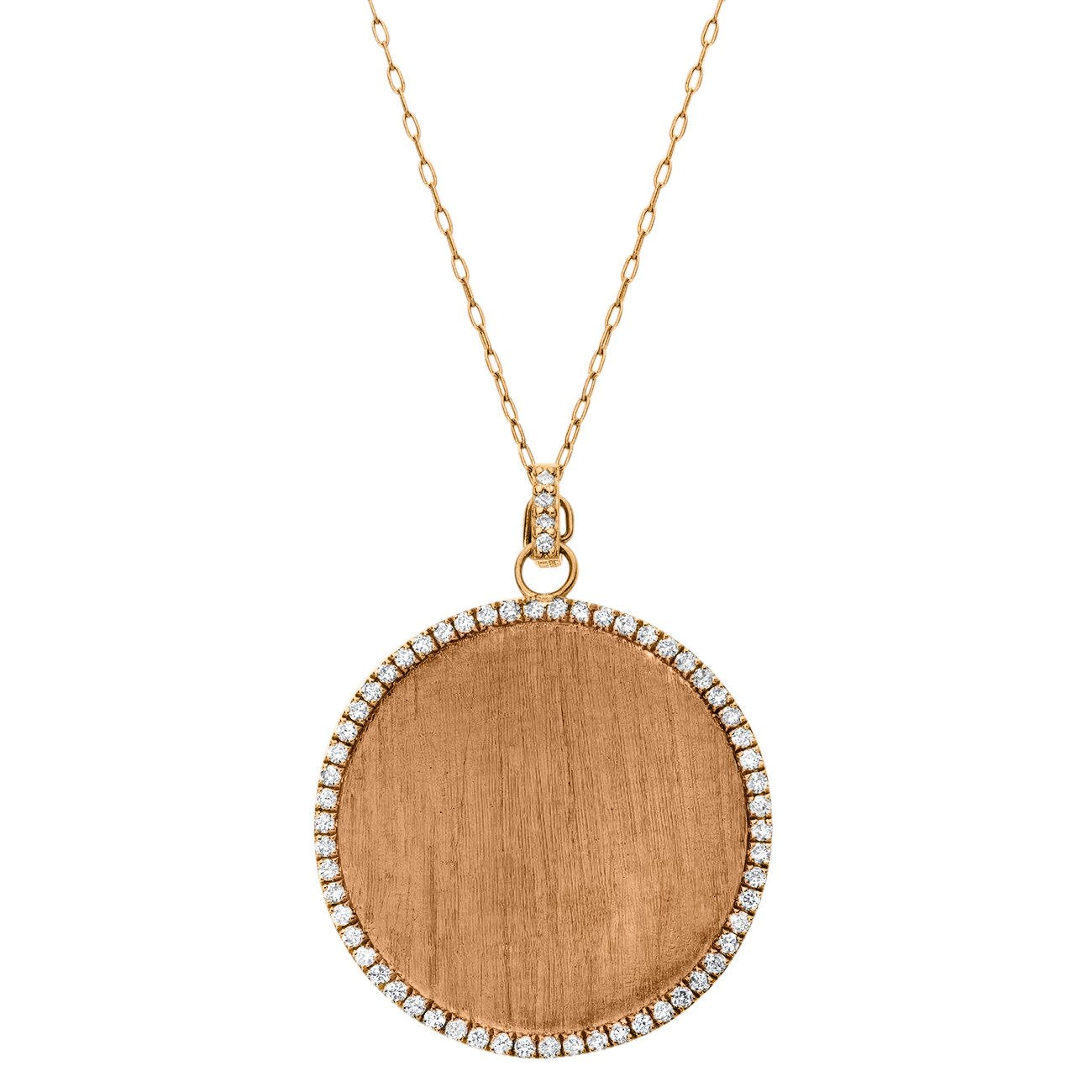 Bella Pendant Rose Gold