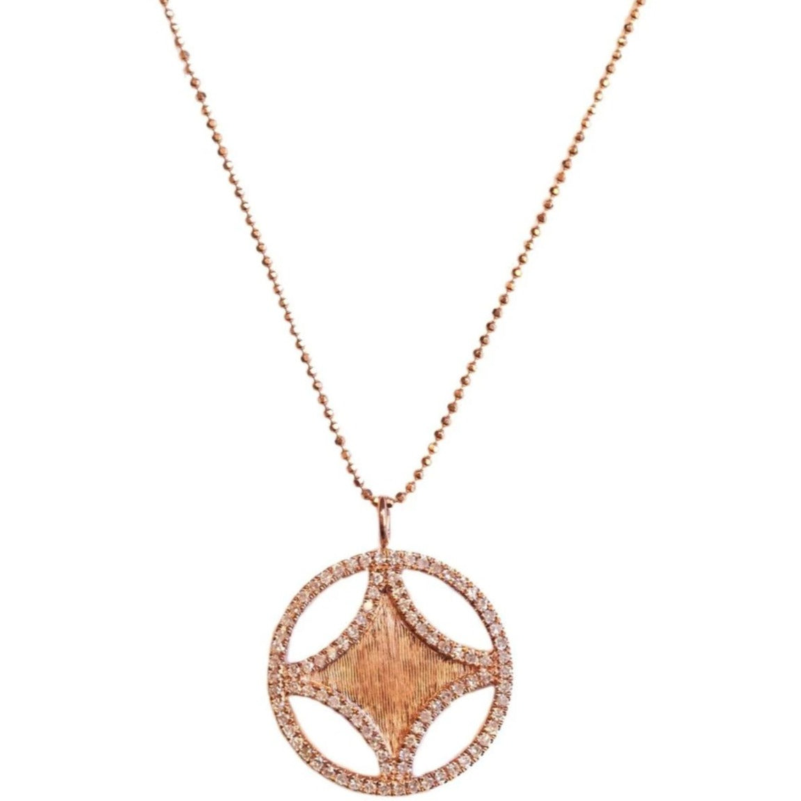 Sistene Small Necklace Rose Gold