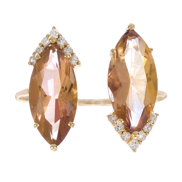 Amelia Ring Yellow Gold Ametrine