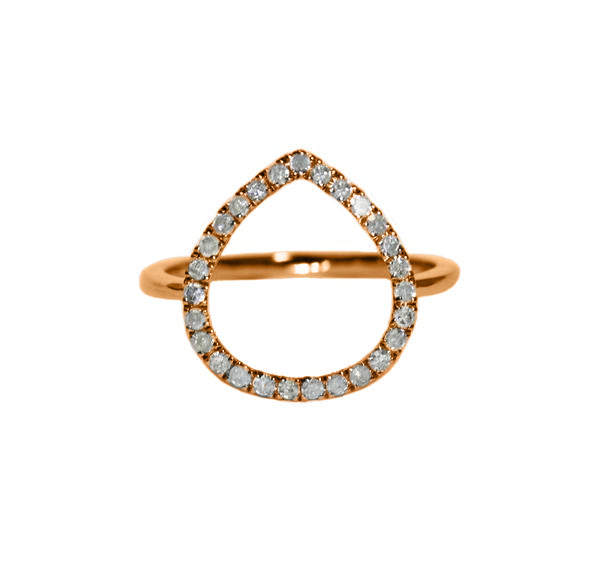 Chloe Ring Rose Gold