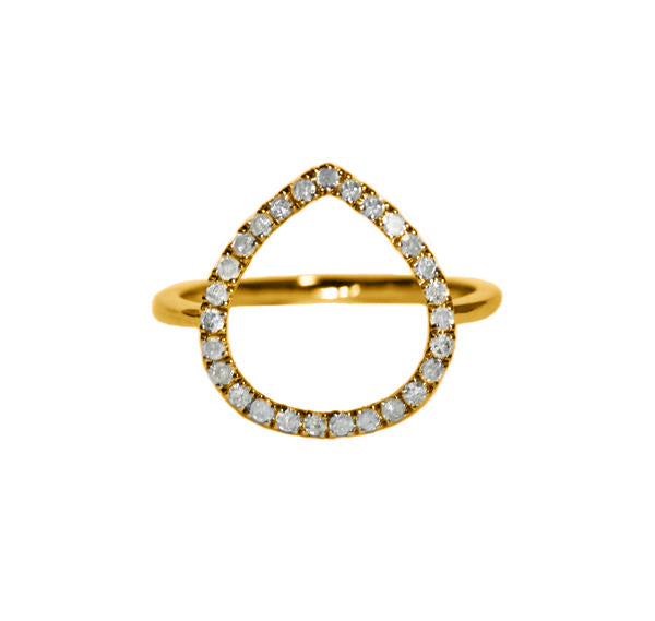 Chloe Ring Yellow Gold