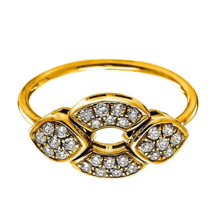 Kat Ring Yellow Gold