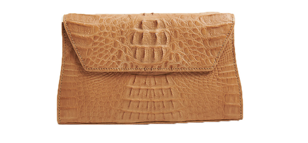 Celine Crocodile Clutch