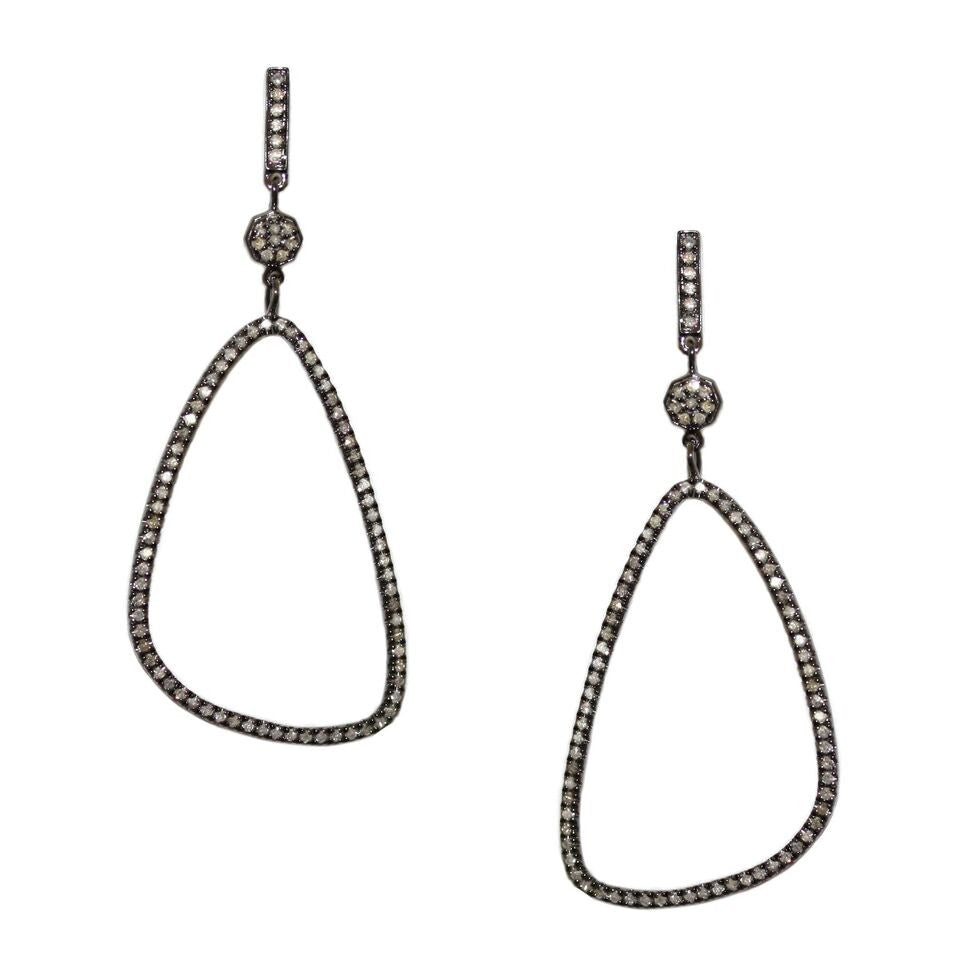 Danielle Earrings Silver