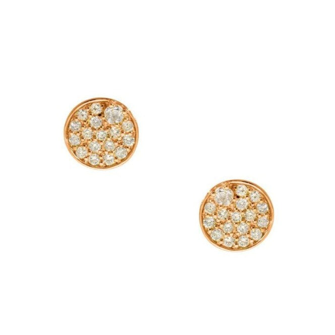 Stardust Studs Rose Gold