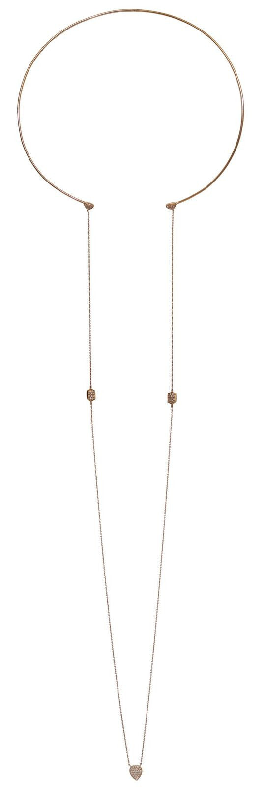 Helena Rose Gold Collar