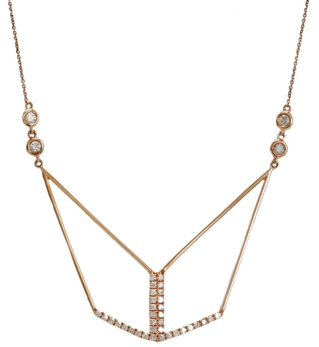 Tori Necklace Rose Gold