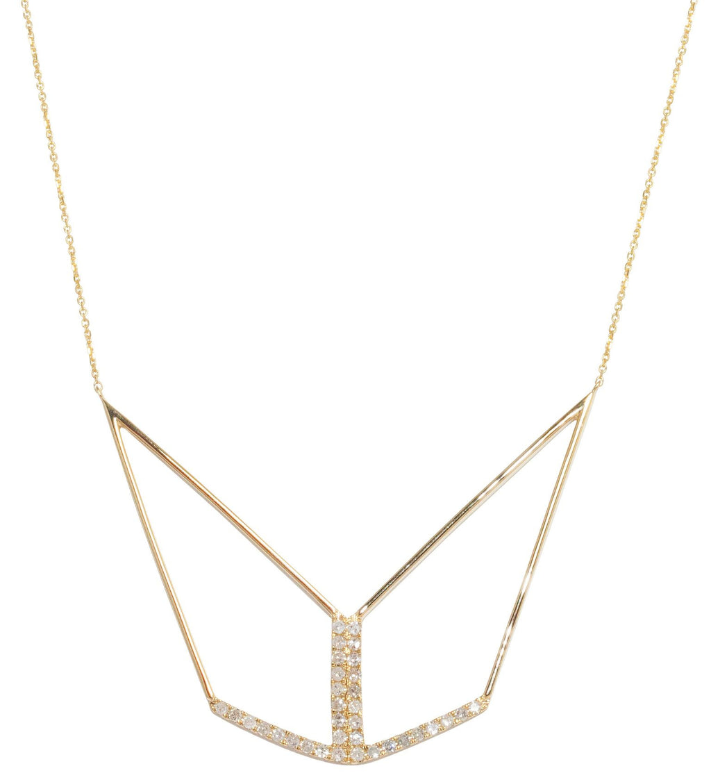 Tori Necklace Yellow Gold
