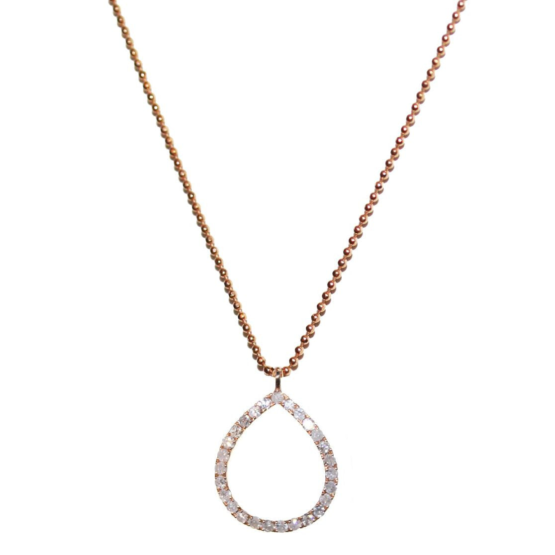 Chloe Necklace Rose Gold