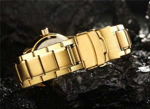 Naviforce®™ Luxury Golden Watch Limited Edition - SuperShopSale.com