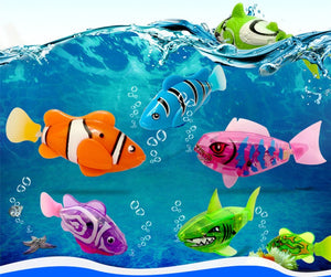 High quality Robot Fish (x 4 fishes) - SuperShopSale.com