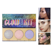 Load image into Gallery viewer, Chameleon Crystal Sugar Eyeshadow Makeup Palette Cosmetic Kit - SuperShopSale.com