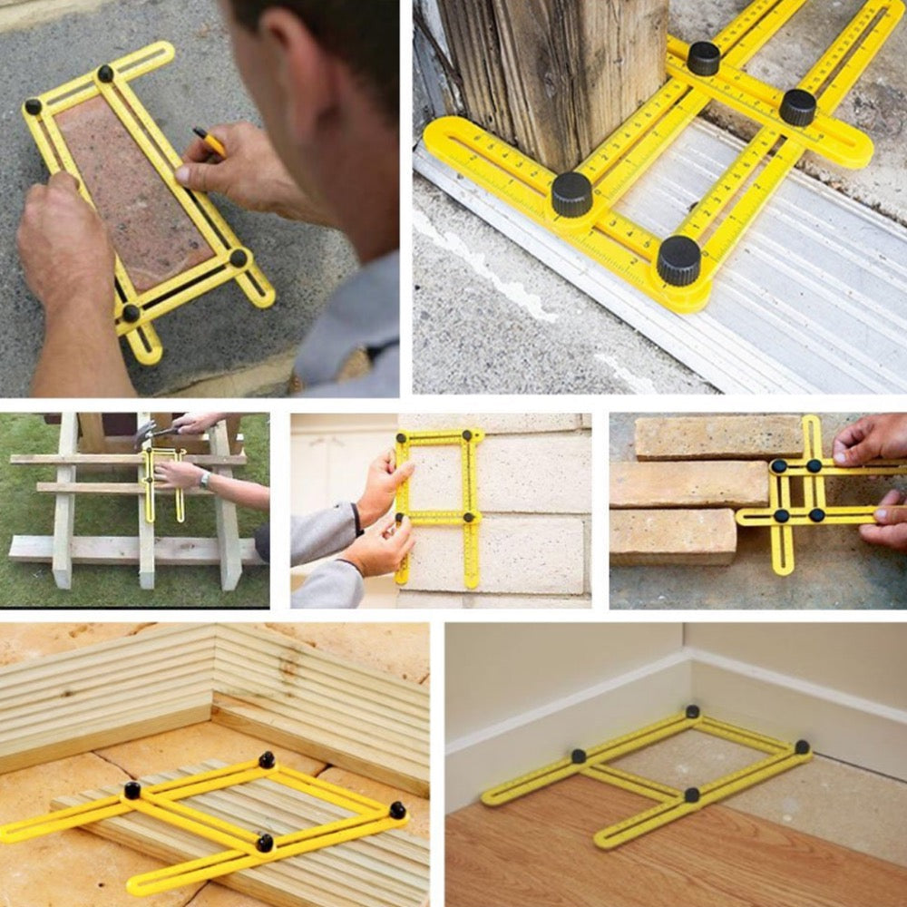 Multi-Angle Ruler Template Tool -  (836 Possible Angles)