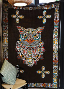 Bohemian Owl Tapestry - SuperShopSale.com