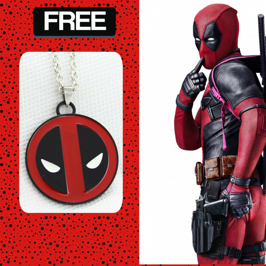 Deadpool Pendant Necklace