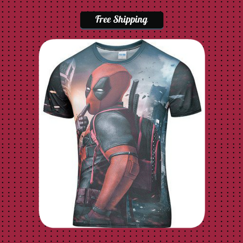 Deadpool T-Shirt - SuperShopSale.com