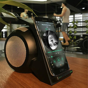 Fast Wireless Charging with Bluetooth Speaker - SuperShopSale.com