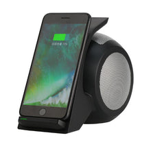 Load image into Gallery viewer, Fast Wireless Charging with Bluetooth Speaker - SuperShopSale.com