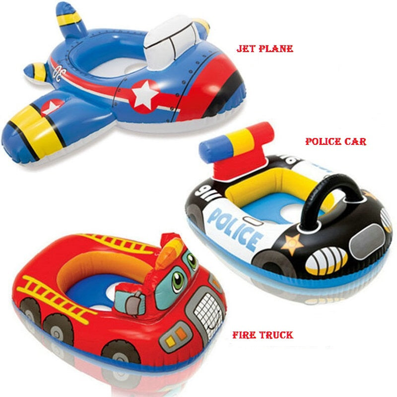 Best Baby Pool Float - Airplane And Car Shaped Inflatable Pool Float