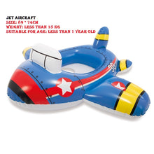 Load image into Gallery viewer, Best Baby Pool Float - Airplane And Car Shaped Inflatable Pool Float - SuperShopSale.com