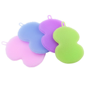 Heat Resistant Silicone Dish Sponge (Set Of 4) - SuperShopSale.com
