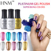 Image of HNM Glitter UV Gel Nail Polish
