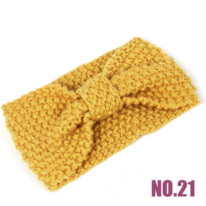 Soft Knitted Winter Headband Turban
