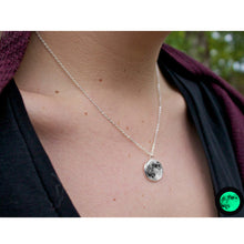 Load image into Gallery viewer, Glow in the Dark Moon Necklace