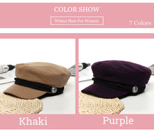 Load image into Gallery viewer, Women's Wool Beret Hat