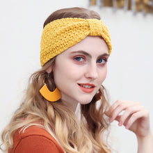 Load image into Gallery viewer, Soft Knitted Winter Headband Turban