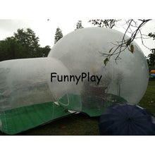 Load image into Gallery viewer, Single Tunnel Inflatable Bubble Tent House For Family Use - SuperShopSale.com